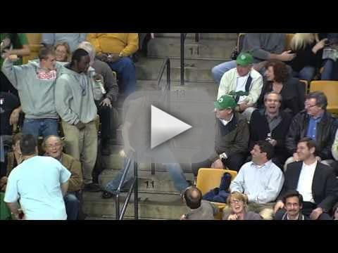 Celtics Fan Dances Up a Storm