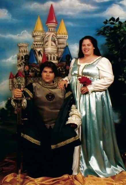 Preparing for a royal wedding.