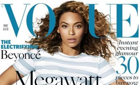 Beyonce British Vogue Cover