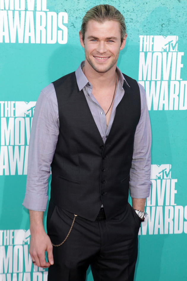Chris Hemsworth at MTV Movie Awards