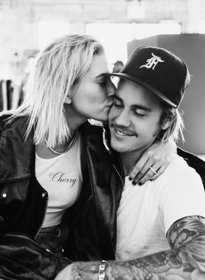 Justin Bieber And Hailey Baldwin Have Matching Face Tattoos Report