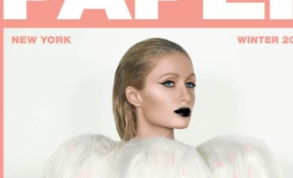 Paris Hilton: Nude for Paper Magazine! Still Alive, Apparently!