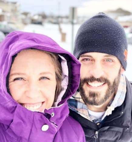 Jill and Derick in the Snow