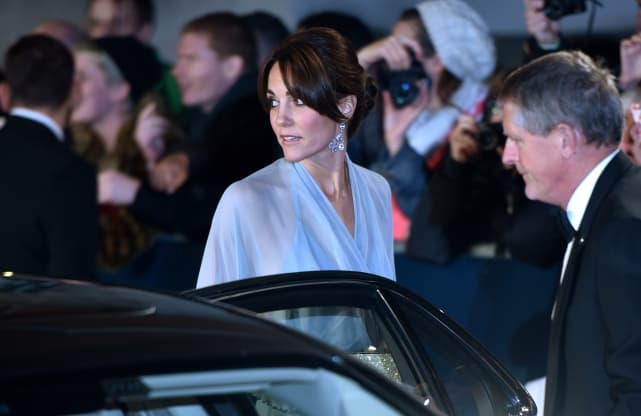 Kate middleton close up at spectre premiere