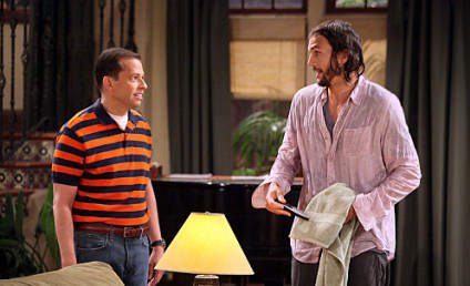 Charlie Sheen Praises Debut of Ashton Kutcher on Two and a Half Men