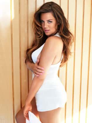 Khloe Kardashian Cosmopolitan Pic