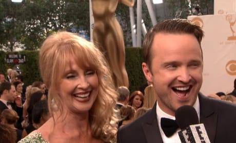 Aaron Paul, Mom at the Emmys