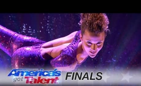 Sofie Dossi on America's Got Talent Finale