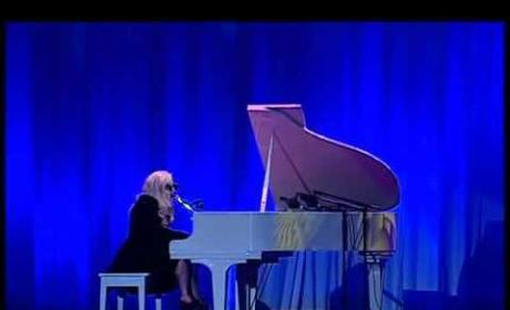 Lady Gaga Performing Imagine