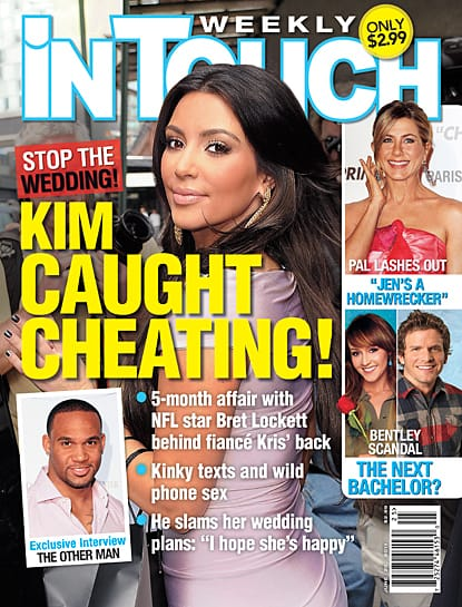 Kim Kardashian Caught Cheating?!