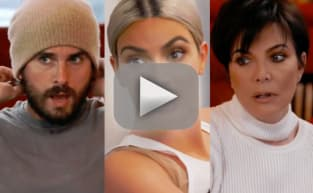 Kris Jenner and Scott Disick: Kim Kardashian Scares the Eff Out of Us!