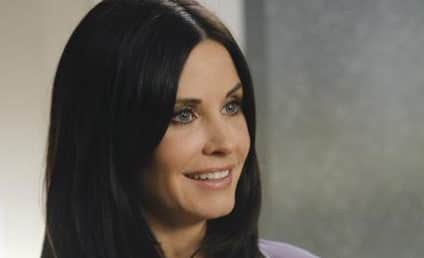 Courteney Cox Cozies Up to Brian Van Holt at Christmas Party