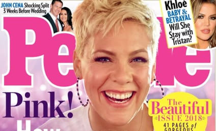 Pink Has Been Named Most Beautiful Woman in the World