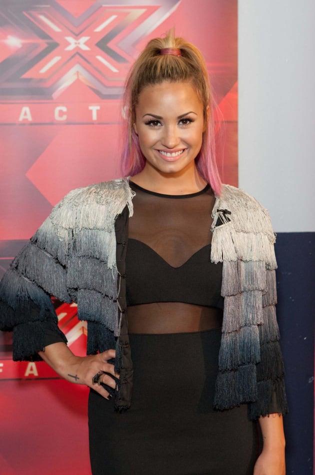 Demi Lovato X Factor Pic
