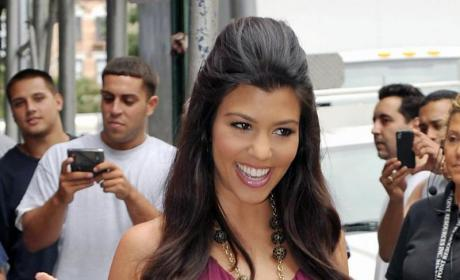 Kourtney Kardashian Pregnant Picture