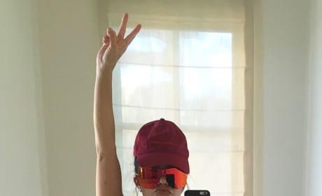 Kourtney Kardashian Bikini Selfie