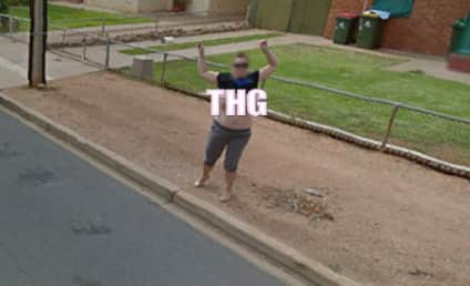 Karen Davis, Large-Breasted Woman Who Flashed Google Street View, Arrested For Disorderly Conduct