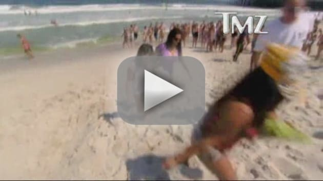 Snooki Wasted on Jersey Shore!