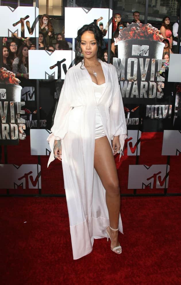 Rihanna at MTV Movie Awards