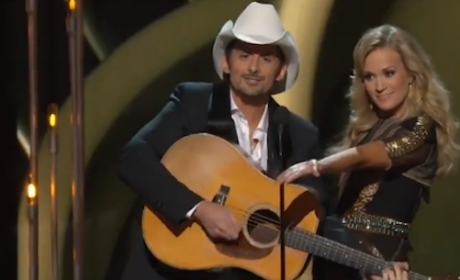 CMA Awards: Carrie Underwood and Brad Paisley Highlights