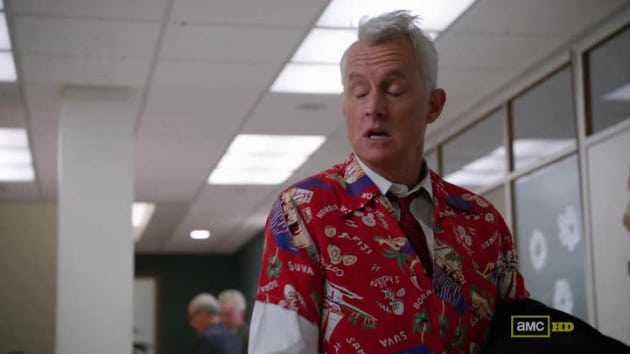 Roger Sterling: Drunk For Pearl Harbor Day