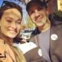 Olivia Wilde voting