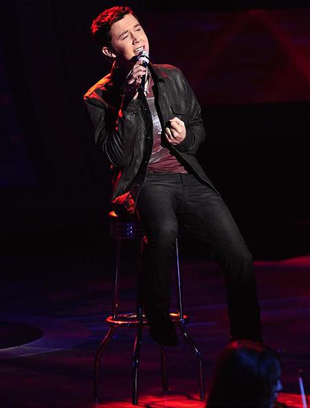 Scotty McCreery on Idol Photo