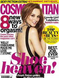 Leighton Meester Cosmo UK Cover