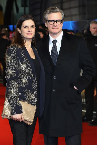 Colin Firth, Wife
