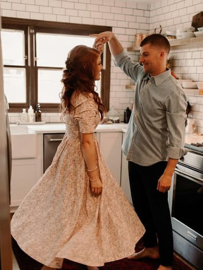 Audrey and Jeremy Roloff Dance