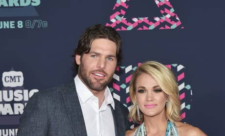 Carrie Underwood and Mike Fisher, CMTs