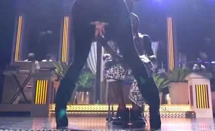 Nicki Minaj: Twerking, Straddling Lil Wayne at Billboard Music Awards!
