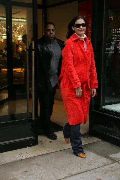 Katie Holmes Big Red