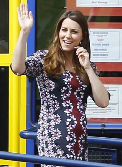 Kate Middleton, Floral Dress