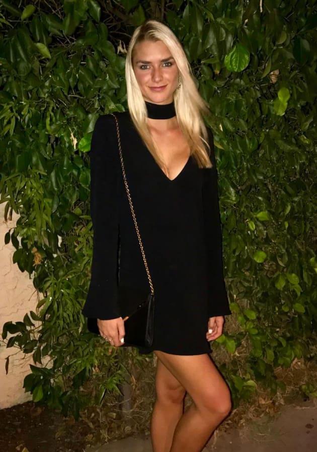 Kelsey Owens Wears Black