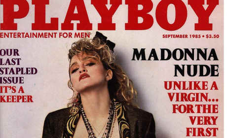 Madonna Playboy Cover