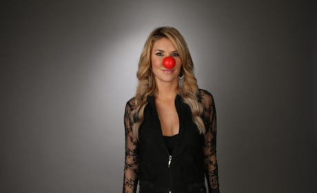 Brandi Glanville Red Nose Photo