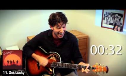 The 20 Most Overplayed Songs of 2013 Performed in One Minute Mashup Video