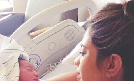 Lydia McLaughlin Baby Photo