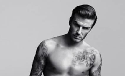 David Beckham Nude: Just Hanging Out