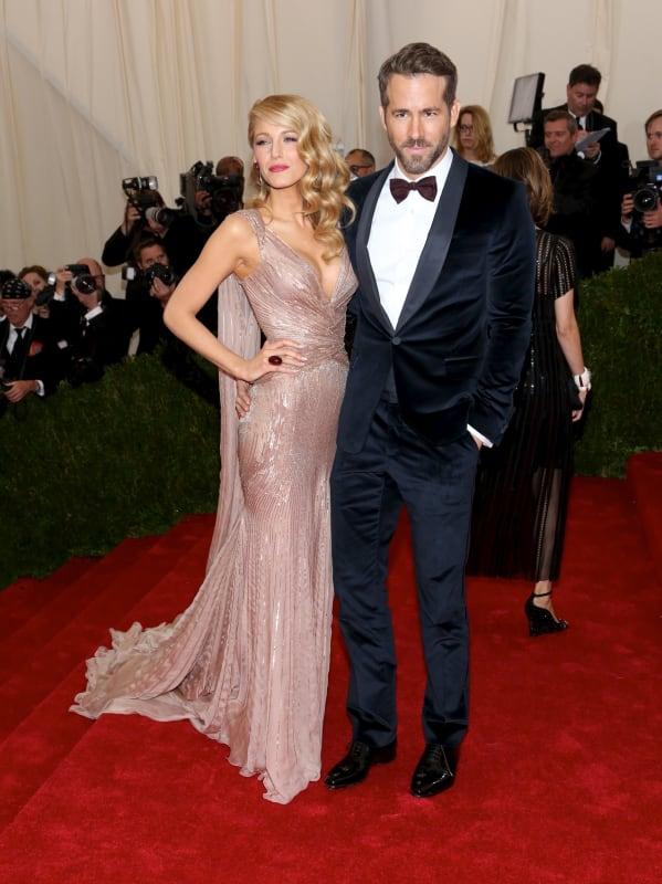 Blake Lively and Ryan Reynolds at MET Gala