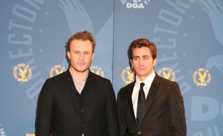 Heath Ledger with Jake Gyllenhaal
