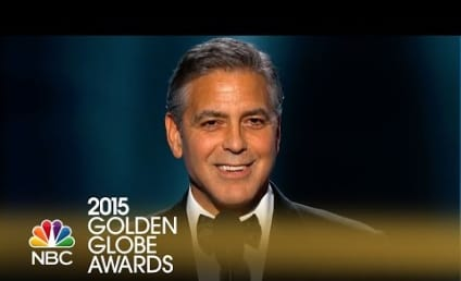 George Clooney Mocks Himself, Praises Amal Alamuddin in Golden Globe Awards Speech