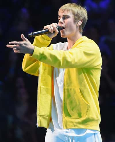 Justin Bieber at Madison Square Garden