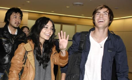 Zac and Vanessa Pic