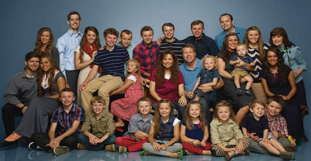 The Duggar Family TLC Photo
