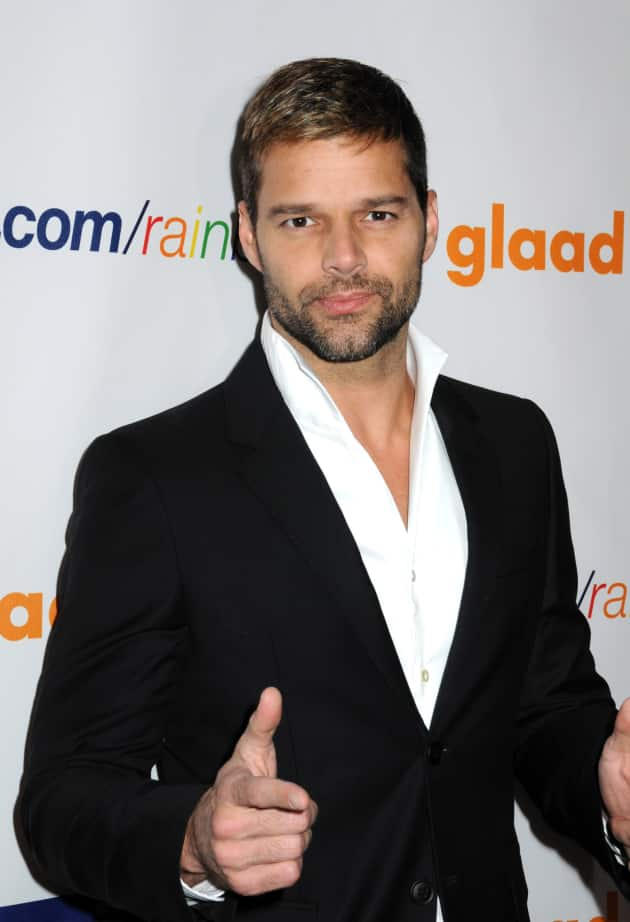 Ricky Martin on the Red Carpet
