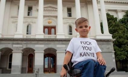 Wheelchair-Bound Boy to Kanye West: EFF YOU!