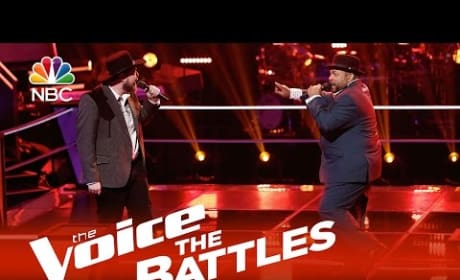 Barry Minniefield vs. Jack Gregori (The Voice Battle Round)