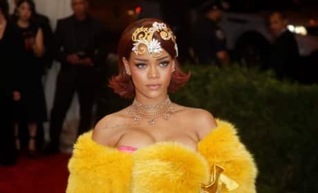 Rihanna at 2015 MET Gala